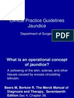 Clinical Practice Guidelines Jaundice