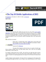 .Top 10 Mobapps