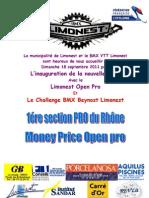 Invitation Bmx Inauguration 18-09-2011