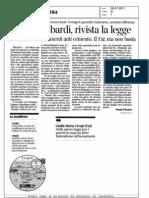 Parchi lombardi,rivista la legge (Corriere della sera)