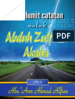 Sekelumit Catatan untuk Abduh Zulfidar Akaha