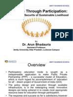 Education through participation