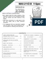 21vzb Vspec Manual