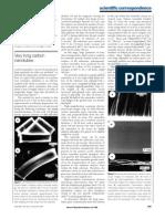 VeryLong Carbon Nanotubes