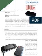 WOWee ONE, información de producto