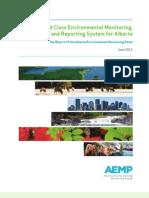 AB Env Monitoring Report 2011