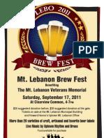Lebo_BrewFest_poster2011