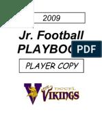 2008 09 a Squad Playbook Vikings