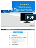 Samsung Ln26-32c350d1dxza b360c5dxza b350f1dxza Ch Lc3d Training-manual [ET]