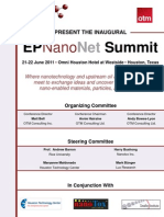 EPNanoNet Summit - June 2011 Agenda