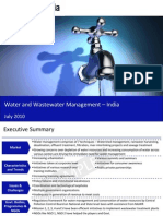 Water and Waste Water Mange Men Tin India 2010 Sample 100713074035 Phpapp01