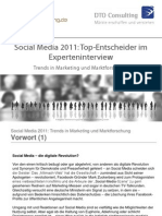 Social Media 2011 Trends in Marketing Und Marktforschung
