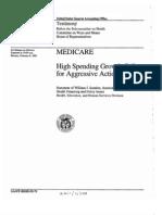GAO report - Medicare