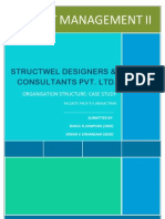 Construction Project Management-Organisation Structure-Ahmedabad-CEPT UNIVERSITY