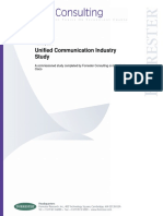 Unified Communications and Business Processes--Forrester Research