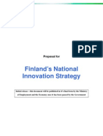 Finland National Innovation Strategy