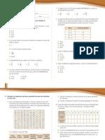 Evaluación Datos y azar 8° año