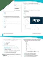 Evaluación Álgebra, Funciones y Relaciones proporcionales 8° año