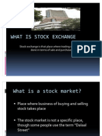 Whats Stock Exchange