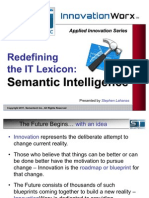 Semantic Intelligence