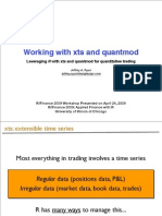 Xts Quantmod Workshop