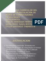 Estructura Curricular Del Tecnico en Instalacion de Redes