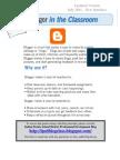 UPDATED Blogging Class Document