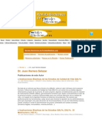 Publicaciones Cientificas 1er Volumen.