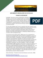 MOVIMENTO BRASILEIRO DE ECOVILAS PISANDO O ACELERADOR