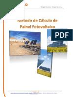 Método de Cálculo de Painel Fotovoltaico