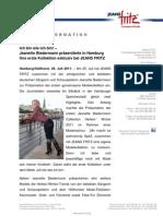 Nachbericht Presse-Event Jeanette Biedermann Collection exklusiv Bei JEANS FRITZ