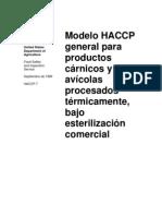 HACCP-Estofado de Res