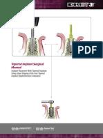 QSD Tapered Implant Manual Art939B