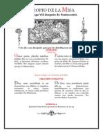 VII Domingo Post Pentecostes