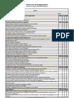 Relatório de inspeção diária de bate estacas