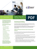 Supply Chain Sales Operations Planning