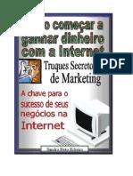 Métodos Secretos de Ganhar Dinheiro na Internet
