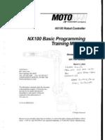 NX100 Basic Programming