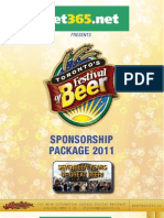 Sponsorship Package 2011 Final