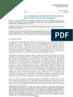 Arrêt de chambre Association Les Témoins de Jéhovah c. France 30.06.11