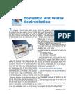 6-10 Domestic Hot Water Re Circulation