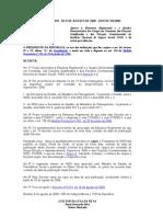 Decreto 5870-06 Estrutura previdencia