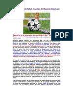 El Lado Oscuro del Fútbol - Arquetipo de 'Deporte Global'