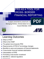 Ifrs as a Tool for Cross Border Reporting Imzakari