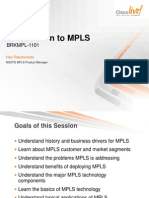 Intro to MPLS Cisco Live