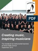 Instrumental Handbook 2011