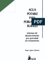 Agua Potable Para Poblaciones Rurales Sistemas de Abastecim