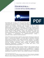 Leszek_Sykulski_Geopolityka-główne_cechy_stylu_myślowego