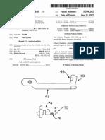 Mod Firearm Beretta - US Patent 5596162