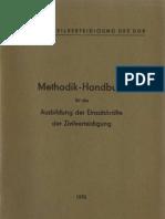 Methodik - Handbuch für die Ausbildung der Einsatzkräfte der Zivilverteidigung